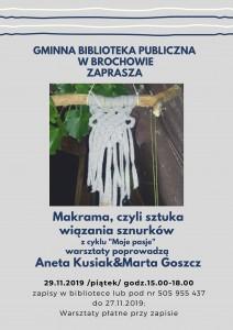 2019-11-08 warsztaty Makrama