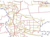 Mapa Brochów