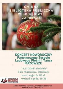 plakat Mazowsze
